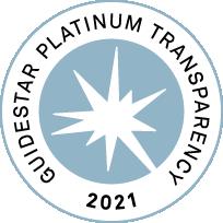 Platinum GuideStar Nonprofit Profile Seal of Transparency 2021