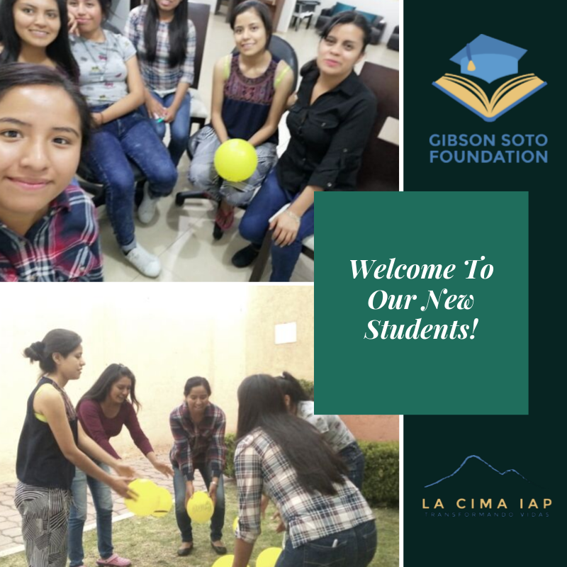 Welcome to our new students